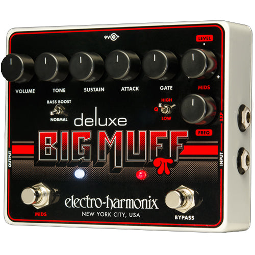 ElectroHarmonix DLXBIGMUFF Deluxe Big Muff Distortion Sustainer Effects Pedal