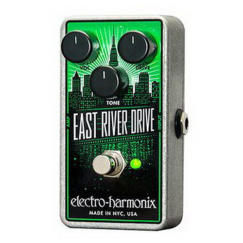 ElectroHarmonix EASTRIVERDRIVE East River Drive Classic Overdrive Effects Pedal