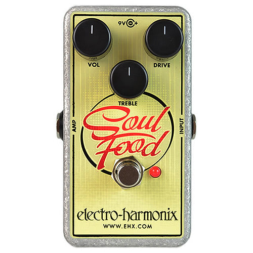 ElectroHarmonix SOULFOOD Soul Food Transparent Overdrive Effects Pedal