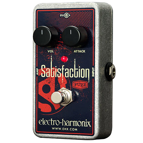 ElectroHarmonix SATISFACTION Classic Fuzz Tone Effects Pedal