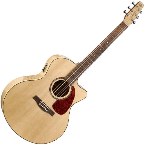Seagull 32471 Performer Cutaway Mini Jumbo Acoustic Electric w/Bag