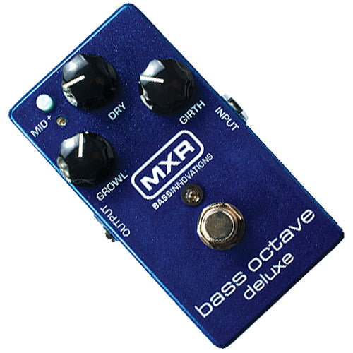 MXR M288 Bass Guitar Octave Deluxe Effects Pedal