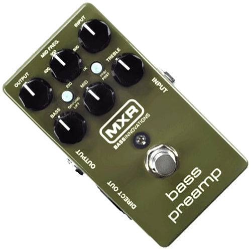 MXR M81 Bass Preamp Effects Pedal
