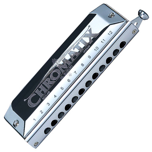 Suzuki SCX48A Chromatix 12 Hole 48 Reed Harmonica Key of A