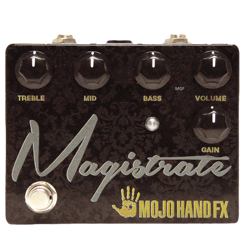 Mojo Hand MAGISTRATE High Gain Distortion Effects Pedal