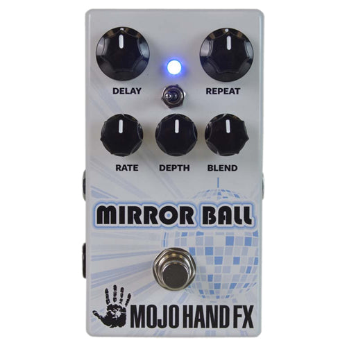Mojo Hand MIRRORBALL Analog Voiced Delay Effects Pedal