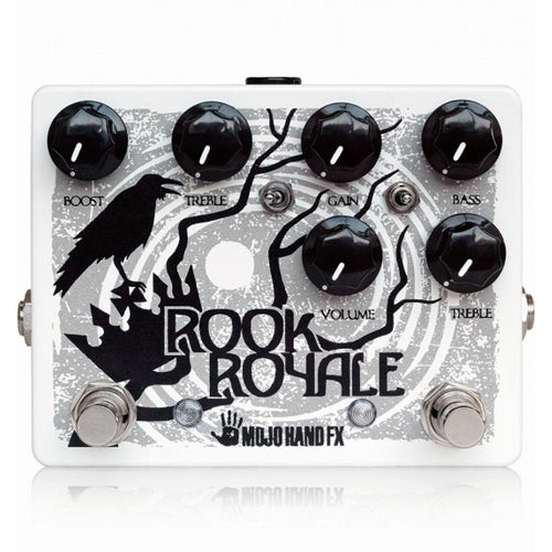 Mojo Hand ROOK ROYALE Dual Overdrive Preamp Effects Pedal