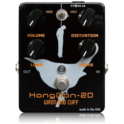 Wren and Cuff HANGMAN2D Heavy Metal Distortion Effects Pedal