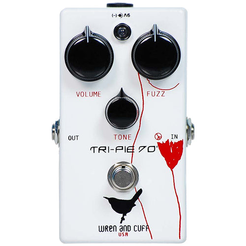 Wren and Cuff TRIPIE70 Fuzz Effects Pedal