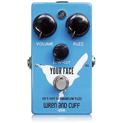 Wren and Cuff YOURFACE60S Hot Germanium Fuzz Effects Pedal
