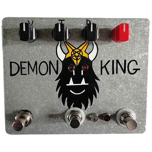 Fuzzrocious DEMONKING Low to Medium-High Gain Overdrive Effects Pedal