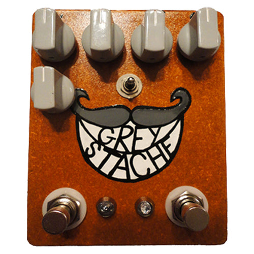 Fuzzrocious GREYSTACHE Guitar/Bass Guitar Fuzz Effects Pedal