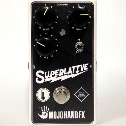 Mojo Hand SUPERLATIVE Small Vintage Amp Overdrive Effects Pedal