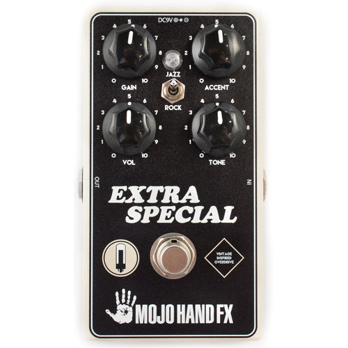 Mojo Hand EXTRA SPECIAL Medium High Gain DMBL Overdrive Effects Pedal