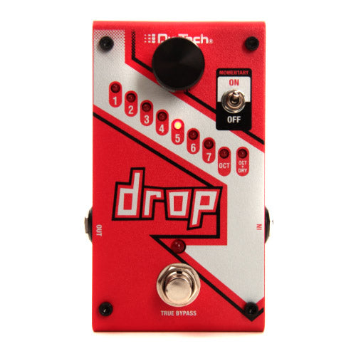 Digitech DROP Polyphonic Pitch Shifting Effects Pedal