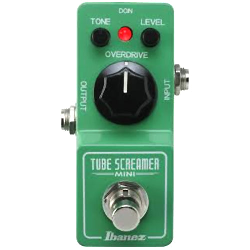Ibanez TSMINI Tube Screamer Mini Overdrive Effects Pedal