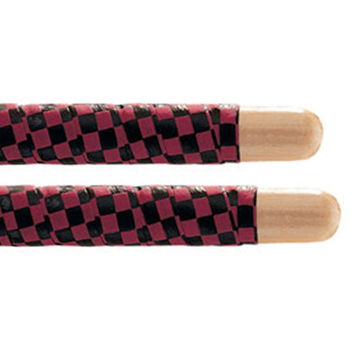 Promark SRCR Black and Red Checkerboard Stick Wrap