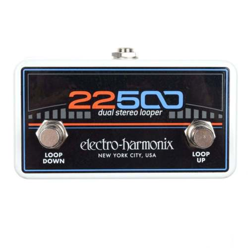 ElectroHarmonix FC22500 Looper Foot Controller Effects Pedal
