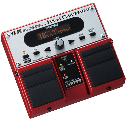 Boss VE20 Performer Vocal Effects Pedal