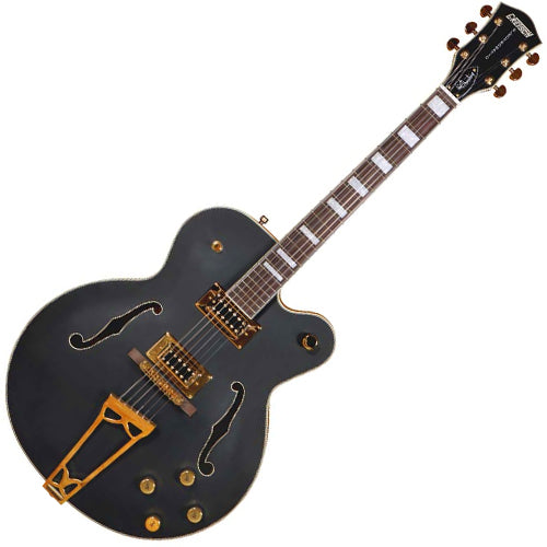 Gretsch 2516000506 Hollow Body Electric Guitar G5191BK Tim Armstrong Signature Electromatic Black Guitar
