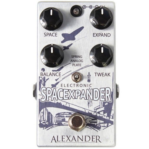 Alexander SPACE XPANDER Reverb Effects Pedal