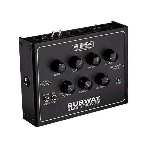Mesa Boogie SUBWAYDI Subway Bass DI-Preamp Effects Pedal