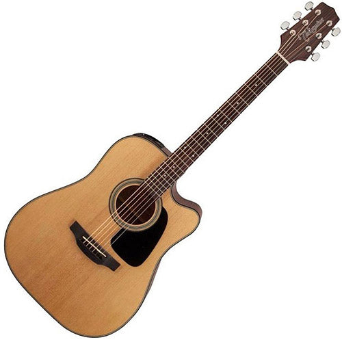 Takamine G 15 Series Dreadnought Cutaway Acoustic Electric in Natural - GD15CENAT