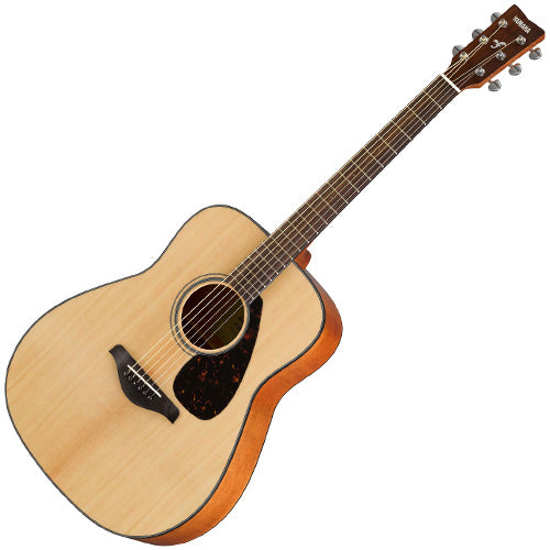 Yamaha FG800NT Solid Spruce Top Acoustic Guitar in Natural