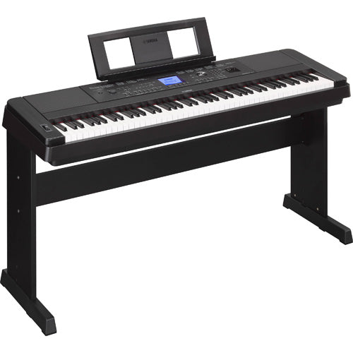 Yamaha DGX660B 88 Note Portable Keyboard Weighted Action with Stand