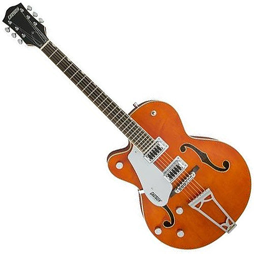 Gretsch 2516021512 Left Hand Hollow Body Electric Guitar G5420LH Electromatic in Orange Stain