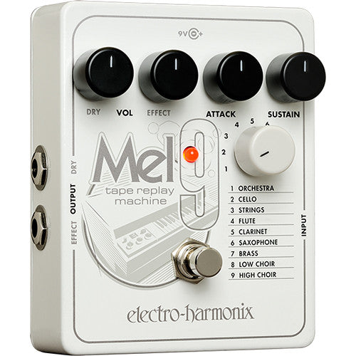 ElectroHarmonix MEL9 Mellotron Tape Replay Machine Effects Pedal