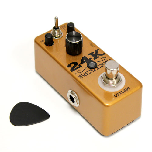 Outlaw Effects 24K REVERB 3-Mode Reverb Effects Pedal
