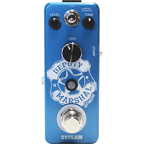 Outlaw Effects DEPUTY MARSHAL Plexi Distortion Effects Pedal