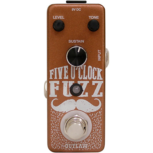 Outlaw Effects FIVE OCLOCK FUZZ Fuzz Effects Pedal