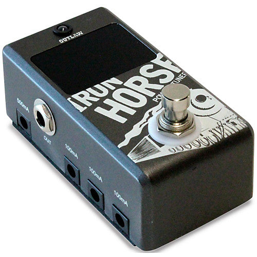Outlaw Effects IRONHORSE Chromatic Tuner/Power Supply Combo Effects Pedal