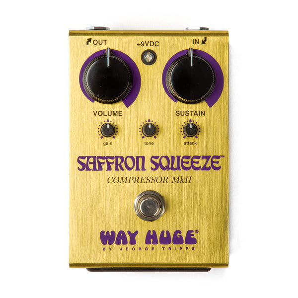 Way Huge WHE103 Saffron Squeeze Compressor Effects Pedal