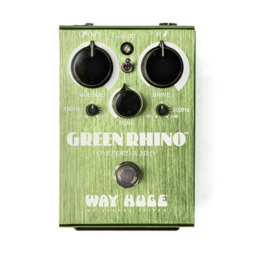 Way Huge WHE207 Green Rhino MKIV Overdrive Effects Pedal