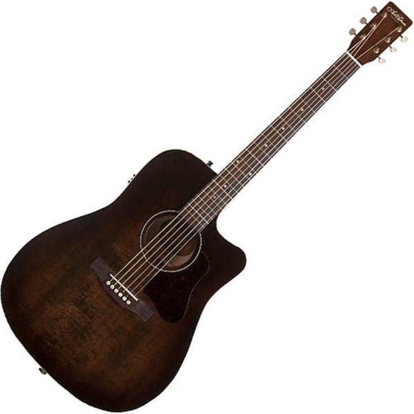Art & Lutherie 42432 Americana Cutaway Acoustic Electric in Bourbon Burst