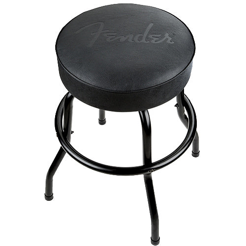 Fender 9100323506 24 Black Logo Bar Stool