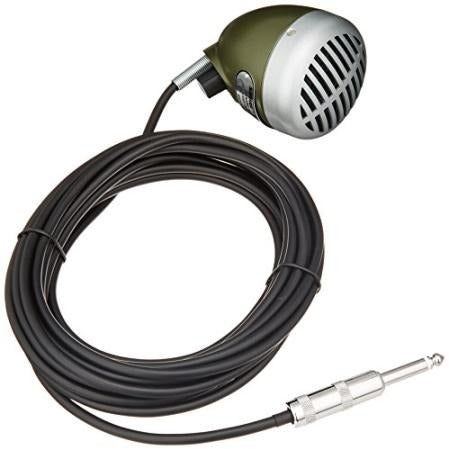 Shure 520DX Green Bullet Dynamic Harmonica Microphone