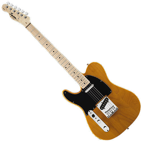 Squier 0310223550 Left Handed Affinity Telecaster Special Electric Guitar in Butterscotch Blonde