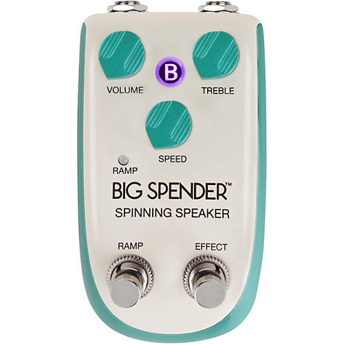 Danelectro DBK1 Billionaire Big Spender Spinning Rotary Speaker Effects Pedal