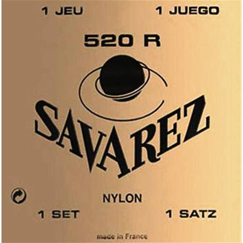 Savarez 520R Nylon Classical Guitar Strings High Tension