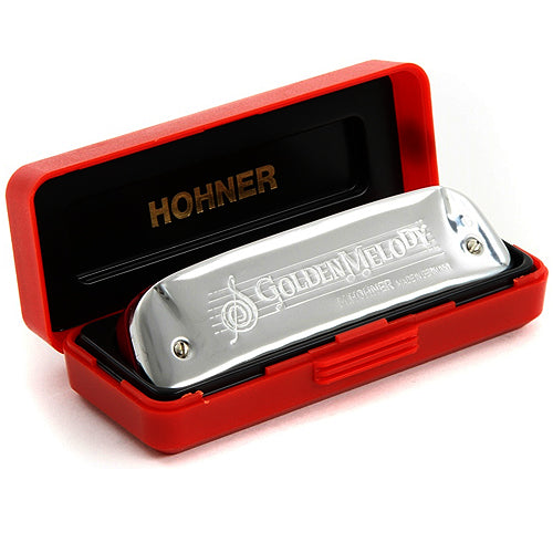 Hohner 542BXG Golden Melody Harmonica in the key of G