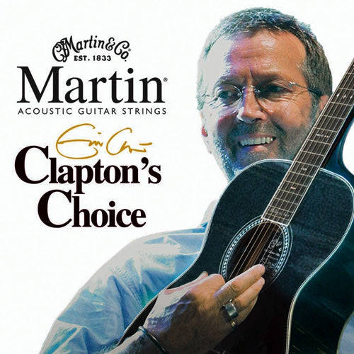 Martin MEC13 Clapton's Choice Acoustic Guitar Strings Medium 13-56