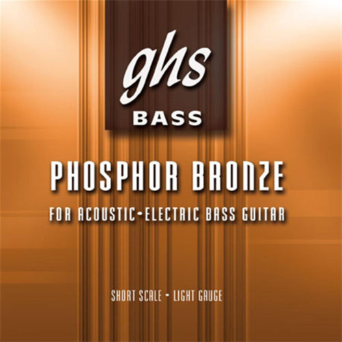 GHS L9000 Phosphor Bronze Acoustic Bass Guitar Strings 40-96