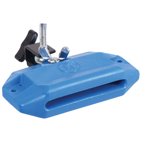 Latin Percussion Jam Block Blue High Pitch with Bracket - LP1205
