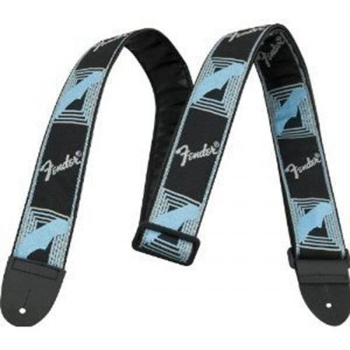 Fender 0990681502 Guitar Strap in Black Grey and Blue