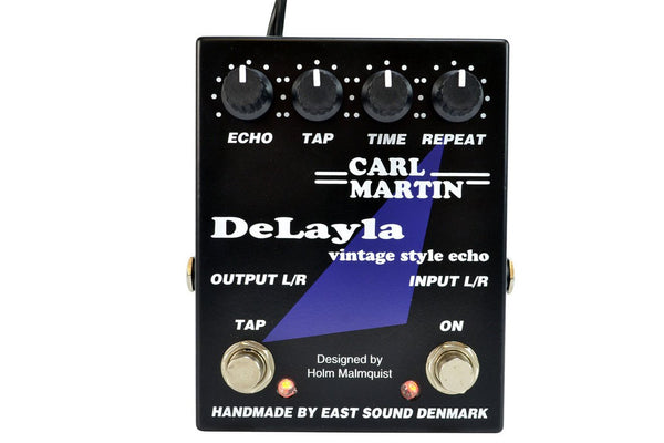 Carl Martin NOS Delayla Vintage Delay Effects Pedal - New in Box - NOSCMDLY