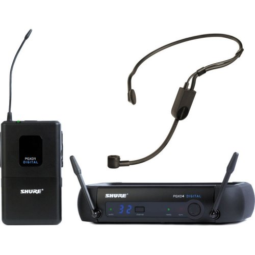 Shure GLXD14SM35Z2 GLX-D Digital Headset Wireless Microphone System